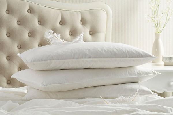 Наперник подушки должен быть плотным