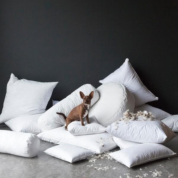 Подушку нужно чистить дважды в год